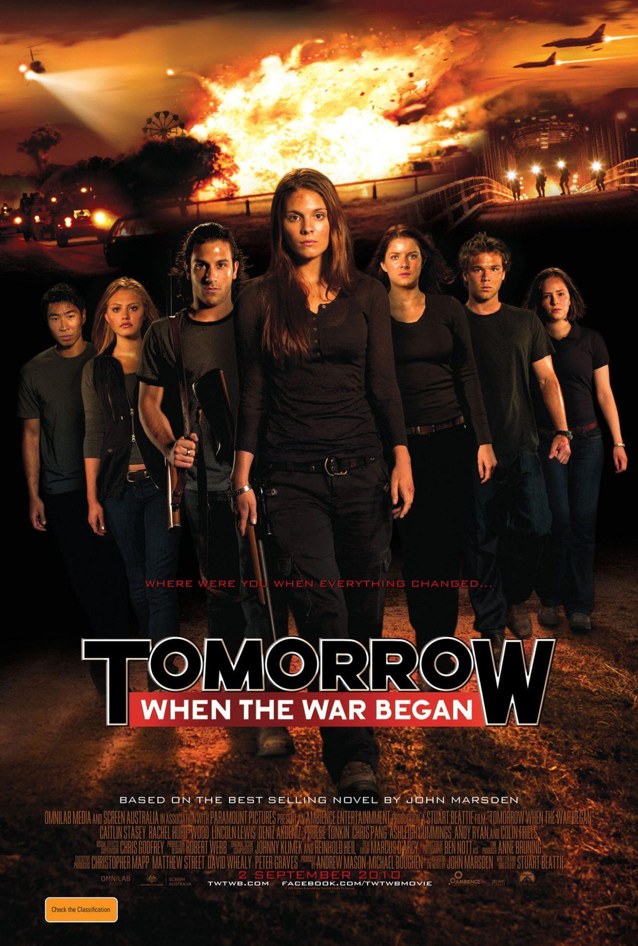 2016 Tomorrow When the War Began
